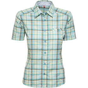 axant Alps Travel Shirt Agion Active Damen blue/green check
